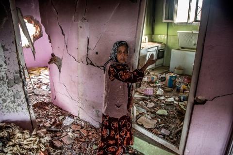 Silopi'deki_çatışmalar_sırasında_hasar_gören_bir_evin_içi,_22_Ocak_2016